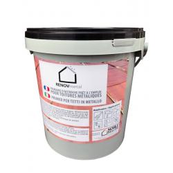 RENOVmetal - 20 Kg - Primaire anti-corrosion pour toiture métallique