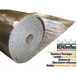 RENOreflex - Isolant refléctif été/hiver - 15 m2