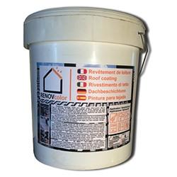 RENOVcolor - 24 Kg - Hydrofuge coloré professionnel pour toiture - 14 teintes dispo